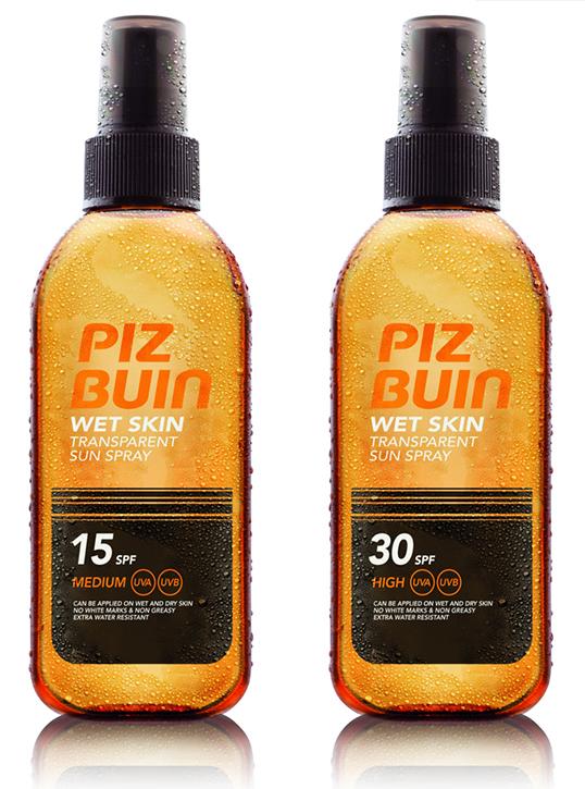Piz Buin Wet Skin Transparent