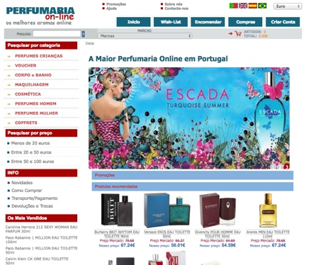 belezaeuropa - Lojas Virtuais Perfumes