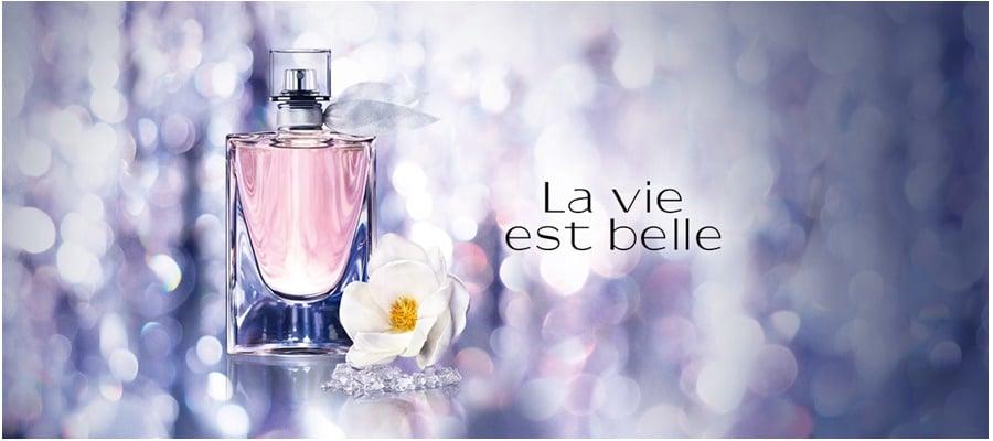 la vie est belle florale edt 44 blog dos perfumes. Black Bedroom Furniture Sets. Home Design Ideas