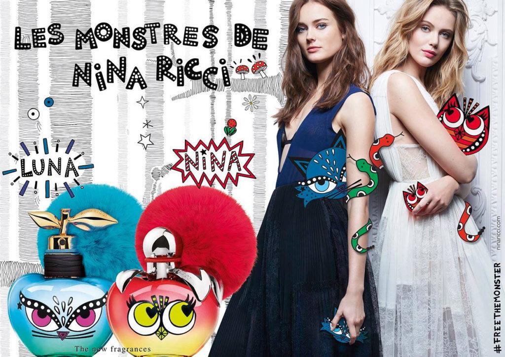 Les Monstres de Nina Ricci